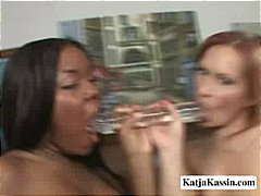 Oiled Up Lesbian Sluts video