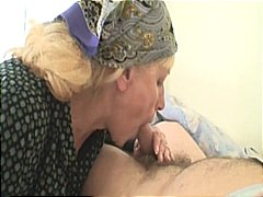 old man young woman, big natural tits, huge tits, busty, nurse, granny