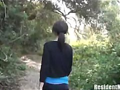 Fucking Milf in the woods preview