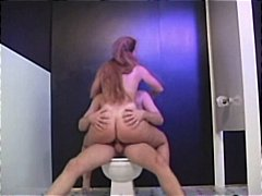 Hot blonde MILF gets banged in the ba...