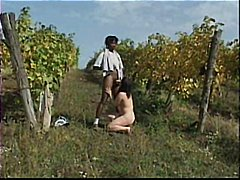 Mature Hairy outdoor R20