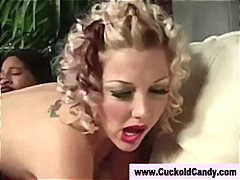 Tube8 - Horny interracial slut...