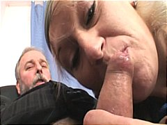 beauty, 3some, old man young woman,