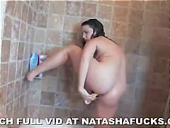 See: Natasha's anal toy play