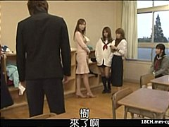 Nuvid Movie:Japanese schoolgirl blows cock...