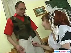 Chubby Redhead Houseke... video