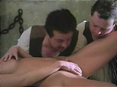 vintage, uniform, hot pussy, threesome