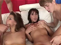 Teenage gangbang party... video
