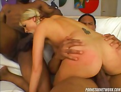 Blonde Babe Teoni Gets... video