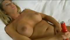 Hot Texas milf masterbates