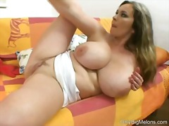 mother, masturbating, big-boobs