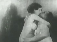 1927 Vintage with Hairy Wife and neigbor