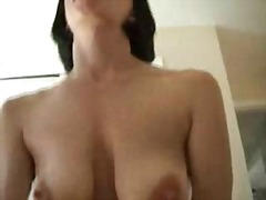 MILF wife POV suck and...