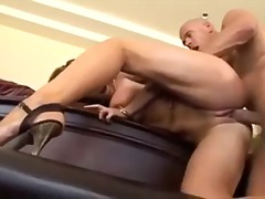 Fucked cock slut Nikki Benz boned as brunette