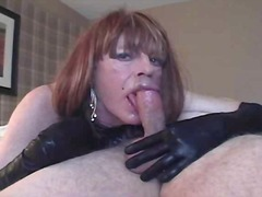 mature, deepthroat, blowjob, cock