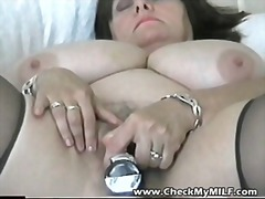 Amateur BBW MILF with ...