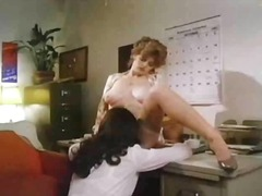 hairy, beauty, pussy eating, brunette, retro, curly hair, natural, classic, big tits, blouse