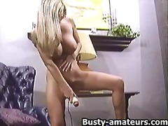 milf, masturbation, toys, blonde