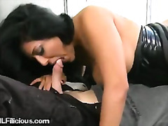 A Sexy Brunette MILF I... video