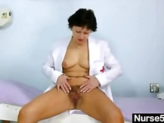 Sexy Milf in nurse uniform... - 05:14