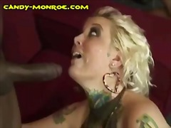 blonde, facial cumshot,