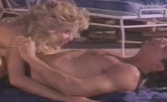 Xhamster Movie:Ginger Lynn gets poolside shag...