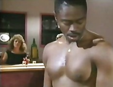 Carol Cummings Dances on a Black Cock