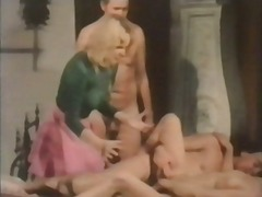 group sex, vintage, hairy,
