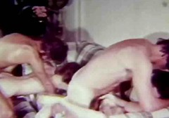 vintage, facials, group sex,