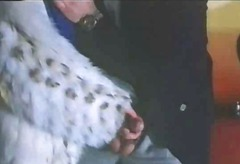 Carole Pierac in Fur Coat #2