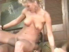 amber lynn,  vintage, group sex,