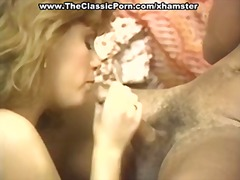 Thumb: Lady pets dick with mo...