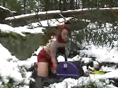 outdoor, russian, amateur, redhead, public, teen, toys