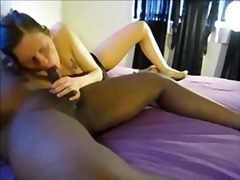 amateur, cream pie, interracial