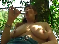 Xhamster - Betty Masterbating at the lake