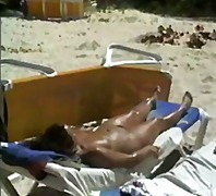 amateur, public nudity, beach,