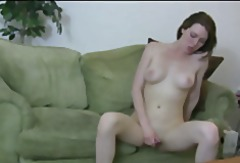 Teen cutie masturbating
