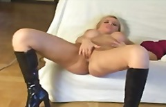 Serbian blonde glory h... video