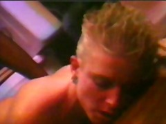 Blonde bitch with shor... video