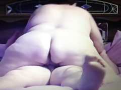 My bbw riding my dick.