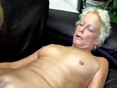 amateur, grannies, facials,