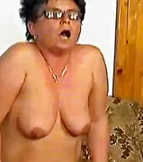 Nasty old mom gets fucked hard and do...