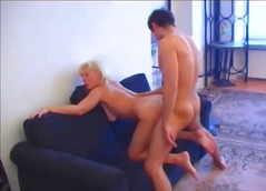 See: Older blonde woman fuc...