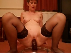 amateur, sex toy, mature,
