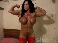 Thumb: Mature muscle babe, Rh...