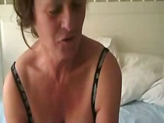 Mature woman with toy