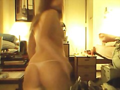 College girl strip video