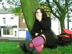 Nerdy Teen On The Vill... video