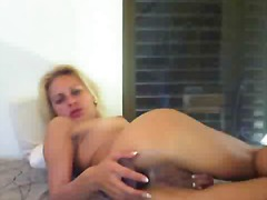 Hot blonde dildo's her... preview