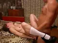Young girl & old man good fuck